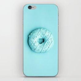 Blue Donut iPhone Skin