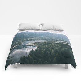 Columbia River Gorge IV Comforters