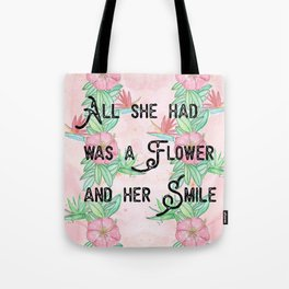 Surfer girl quotes Tote Bag
