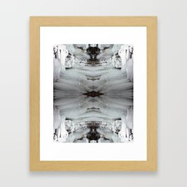 Icicle Framed Art Print