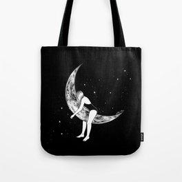 Moon Lover Tote Bag