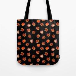 Fun Halloween Pumpkins Seamless Repeating Pattern Tote Bag