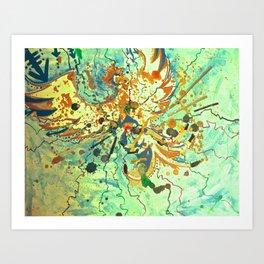 Astrobird Art Print