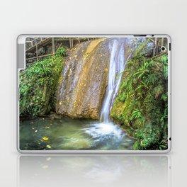 Autumn waterfall Laptop & iPad Skin