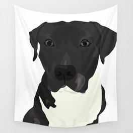 Atticus the Pit Bull Wall Tapestry