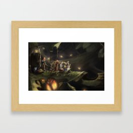 Mice Journey Framed Art Print