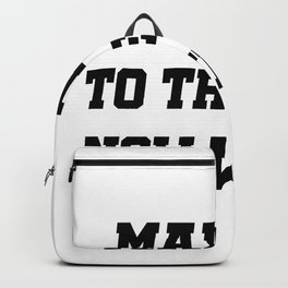 Made It To The Gym Fitness Gifts Backpack
