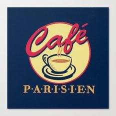 cafe Parisien Canvas Print