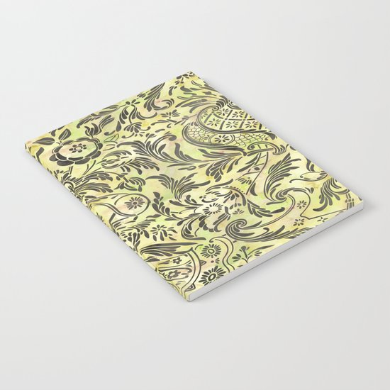 Damask Pattern 03 Notebook