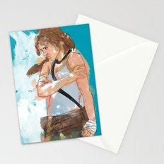 Tomb Raider Stationery Cards