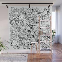 Inktober 2016 Wall Mural