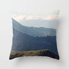 Safe Passage From Palm Springs to Idyllwild Throw Pillow