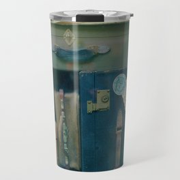 Vintage Suitcases (Color) Travel Mug