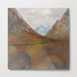 Arran, Scottish landscape by Lu Metal Print
