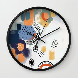 Color Theory 1 Wall Clock