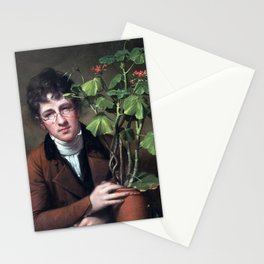 Rembrandt Rubens Peale with a Geranium Stationery Cards
