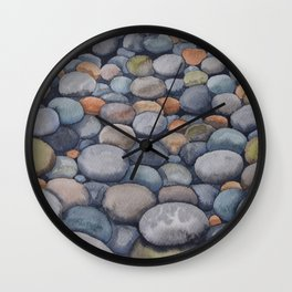 Watercolour relaxation Wall Clock