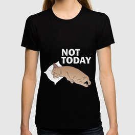 Lazy Frenchie T-shirt