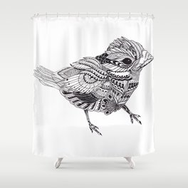 Ornate Bird Shower Curtain