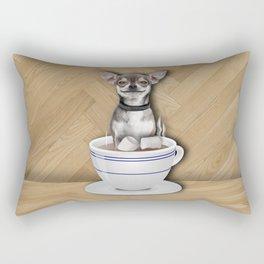 Tea Cup of Love Rectangular Pillow