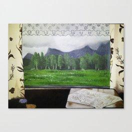 Kjerringøy Canvas Print