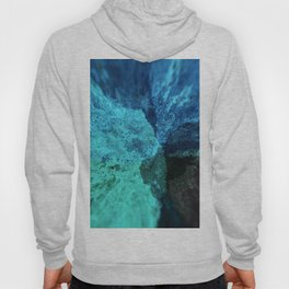 Abstract colorful explosion water rocks nature energy illustration Hoody