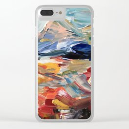Mountainrange of my Daydreams Clear iPhone Case