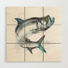 Tarpon Fish Wood Wall Art