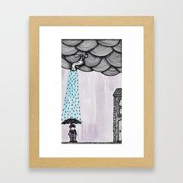 A Drop Of Rain Framed Art Print