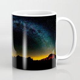 Milky Way & Perseid Meteor Shower - Joshua Tree 2016 Coffee Mug