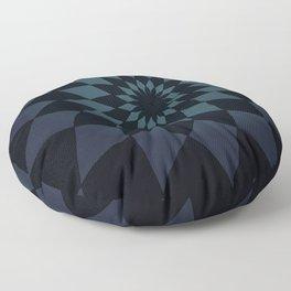 Wonderland Floor in Muted Rain Colors Floor Pillow