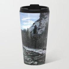 Snowy banks Metal Travel Mug