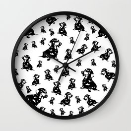 """DOXIE"" DACHSHUND  DOG Wall Clock"