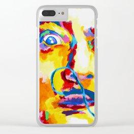 Dali Clear iPhone Case