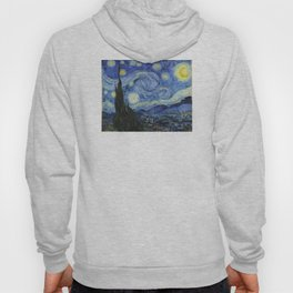 The Starry Night by Vincent van Gogh Hoody
