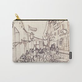Cafe Terrace at Night (sketch) Carry-All Pouch