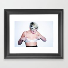 College Framed Art Print