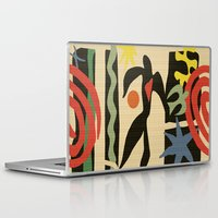 matisse Laptop & iPad Skins featuring Inspired to Matisse (vintage) by Chicca Besso