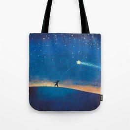Stars Kite Tote Bag