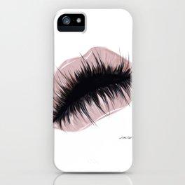 Lashious lips iPhone Case