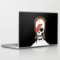aladdin Laptop & iPad Skins featuring Aladdin Sane by zombieCraig by zombieCraig