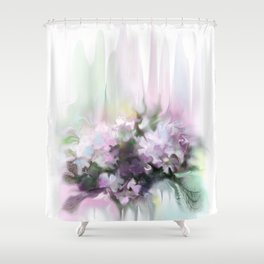 lilac2 Shower Curtain