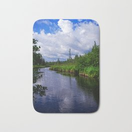 Boundary Waters Entry Point Little Indian Sioux River Bath Mat