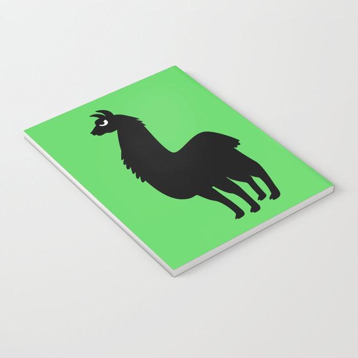 Angry Animals: llama Notebook