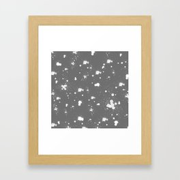 Splatter Pillow Framed Art Print