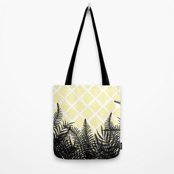 Tropical Ferns on Pattern #society6 #decor #buyart Tote Bag