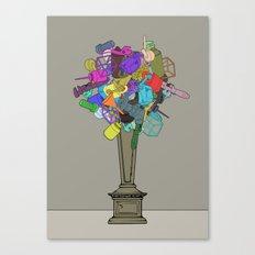 Fleur de Mechanique Canvas Print