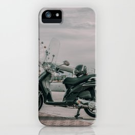 Italy Seashore Travel Photography iPhone Case