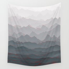 Mountains of Madness I Wall Tapestry