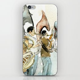 Helicon band iPhone Skin